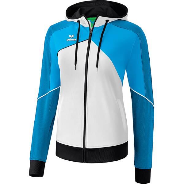 ERIMA Damen Premium One 2.0 Trainingsjacke mit Kapuze