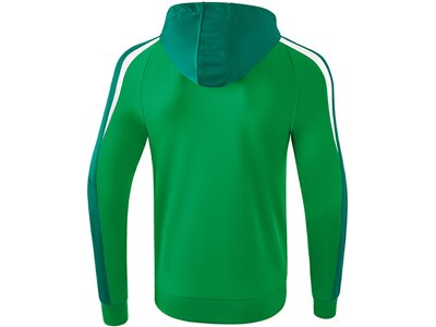 ERIMA Herren Liga 2.0 Trainingsjacke mit Kapuze Grün