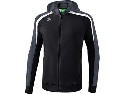 ERIMA Herren Liga 2.0 Trainingsjacke mit Kapuze Schwarz