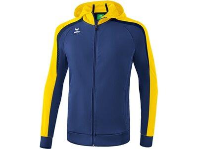 ERIMA Kinder Liga 2.0 Trainingsjacke mit Kapuze Blau