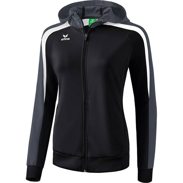 ERIMA Damen Liga 2.0 Trainingsjacke mit Kapuze