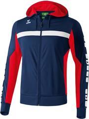 ERIMA Herren CLASSIC 5-CUBES Trainingsjacke mit Kapuze