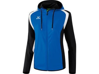 ERIMA Damen Razor 2.0 Trainingsjacke mit Kapuze Blau