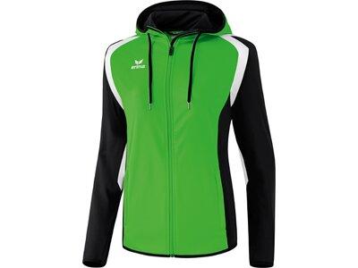 ERIMA Damen Razor 2.0 Trainingsjacke mit Kapuze Grün