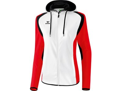 ERIMA Damen Razor 2.0 Trainingsjacke mit Kapuze Rot