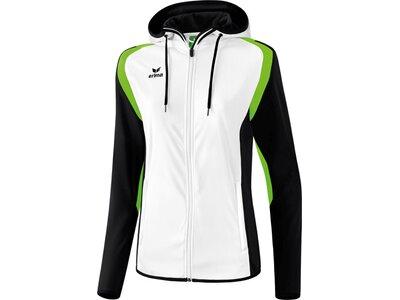 ERIMA Damen Razor 2.0 Trainingsjacke mit Kapuze Weiß