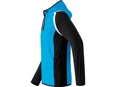 ERIMA Kinder Razor 2.0 Trainingsjacke mit Kapuze Blau