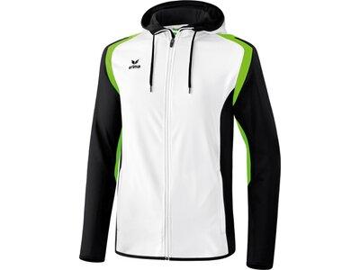 ERIMA Herren Razor 2.0 Trainingsjacke mit Kapuze Weiß