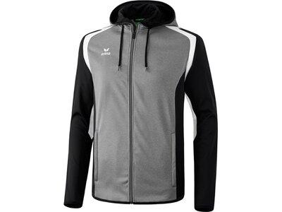 ERIMA Herren Razor 2.0 Trainingsjacke mit Kapuze Grau