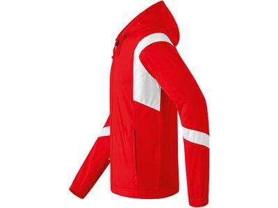 ERIMA Herren Classic Team Trainingsjacke mit Kapuze Rot