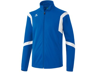 ERIMA Kinder Classic Team Trainingsjacke Blau
