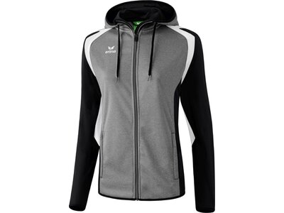 ERIMA Damen Razor 2.0 Trainingsjacke mit Kapuze Grau