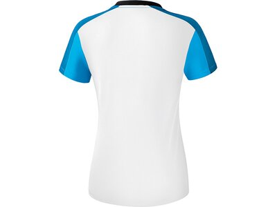 ERIMA Fußball - Teamsport Textil - T-Shirts Premium One 2.0 T-Shirt Damen Hell Weiß