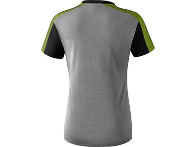 ERIMA Fußball - Teamsport Textil - T-Shirts Premium One 2.0 T-Shirt Damen Hell Grau