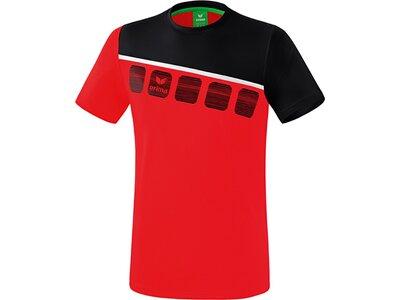 ERIMA T-Shirt 5-C Rot