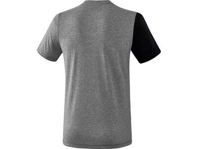 ERIMA T-Shirt 5-C Schwarz
