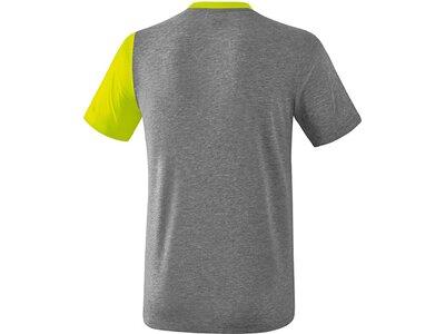 ERIMA T-Shirt 5-C Grau