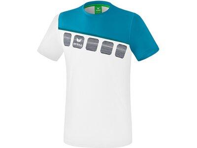 ERIMA T-Shirt 5-C Weiß