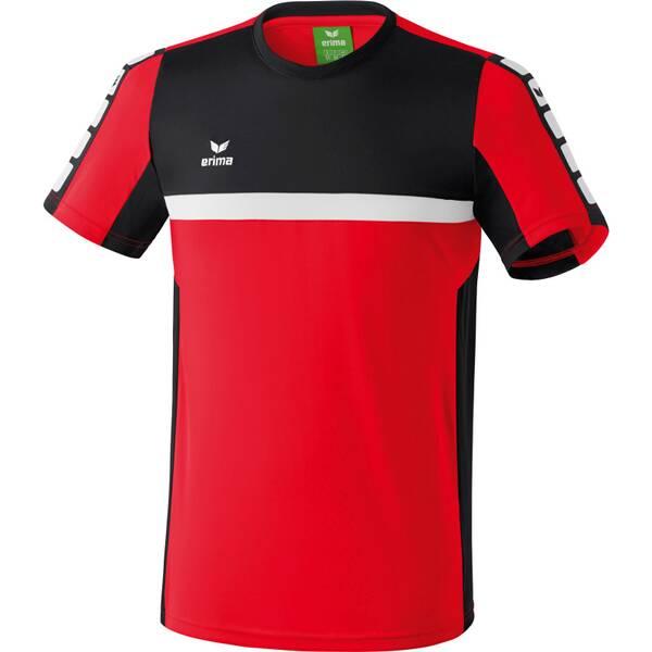 ERIMA Herren CLASSIC 5-CUBES T-Shirt Rot