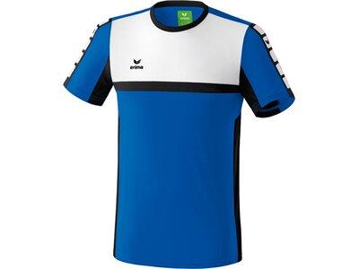 ERIMA Kinder CLASSIC 5-CUBES T-Shirt Blau