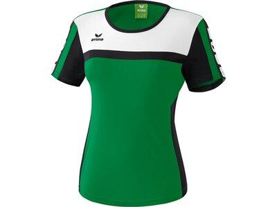 ERIMA Damen CLASSIC 5-CUBES T-Shirt Grün
