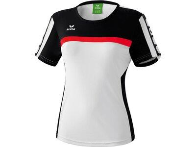 ERIMA Damen CLASSIC 5-CUBES T-Shirt Schwarz