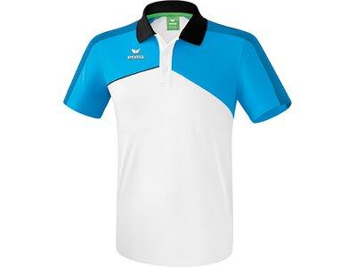 ERIMA Kinder Premium One 2.0 Poloshirt Weiß