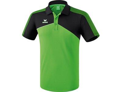 ERIMA Herren Premium One 2.0 Poloshirt Grün