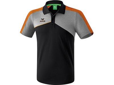 ERIMA Fußball - Teamsport Textil - Poloshirts Premium One 2.0 Poloshirt Kids Hell Schwarz