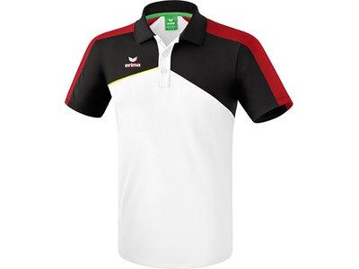 ERIMA Fußball - Teamsport Textil - Poloshirts Premium One 2.0 Poloshirt Kids Hell Weiß