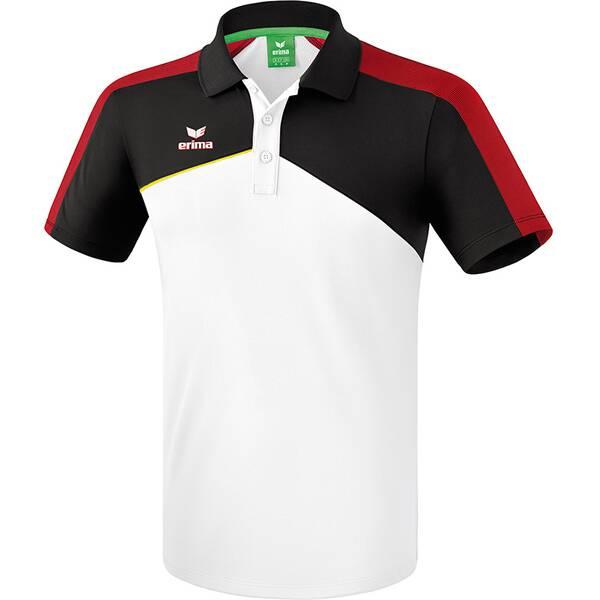 ERIMA Herren Premium One 2.0 Poloshirt Weiß