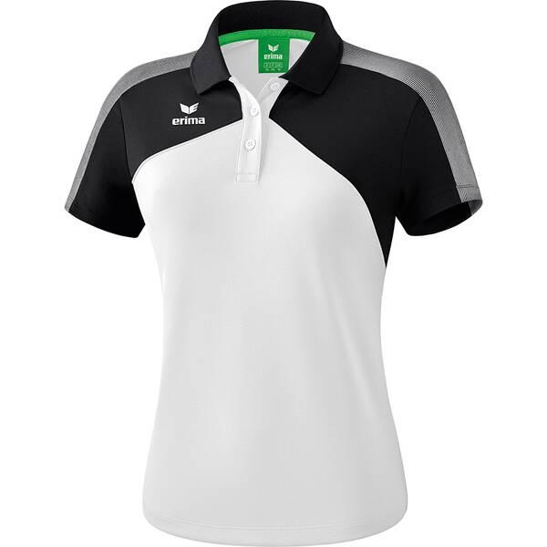 ERIMA Damen Premium One 2.0 Poloshirt Weiß