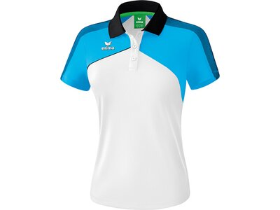 ERIMA Fußball - Teamsport Textil - Poloshirts Premium One 2.0 Poloshirt Damen Hell Weiß