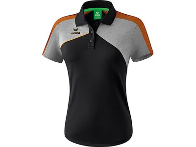 ERIMA Fußball - Teamsport Textil - Poloshirts Premium One 2.0 Poloshirt Damen Hell Schwarz
