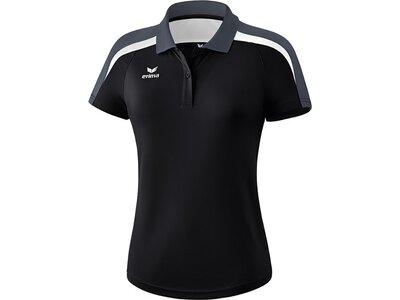 ERIMA Damen Liga 2.0 Poloshirt Schwarz