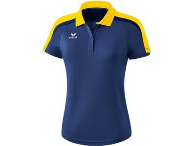 ERIMA Damen Liga 2.0 Poloshirt Blau