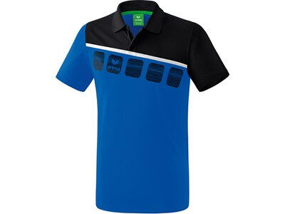 ERIMA Poloshirt 5-C Blau
