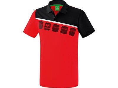 ERIMA Poloshirt 5-C Rot