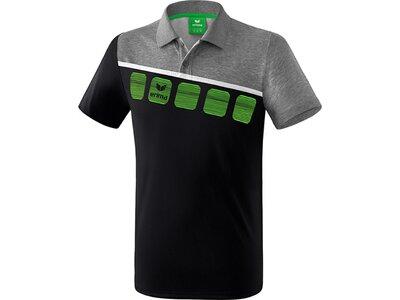 ERIMA Poloshirt 5-C Schwarz