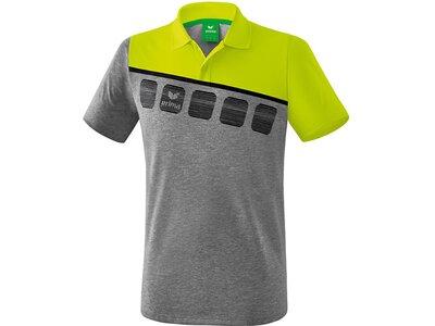 ERIMA Poloshirt 5-C Grau