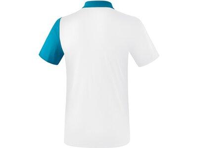 ERIMA Poloshirt 5-C Weiß