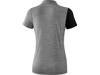 ERIMA Damen Poloshirt 5-C Schwarz