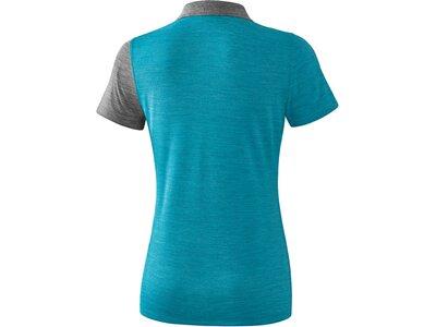 ERIMA Damen 5-C Poloshirt Blau