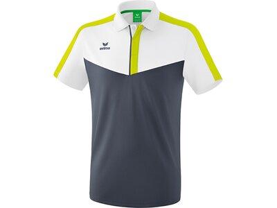 ERIMA Herren Squad Poloshirt Weiß