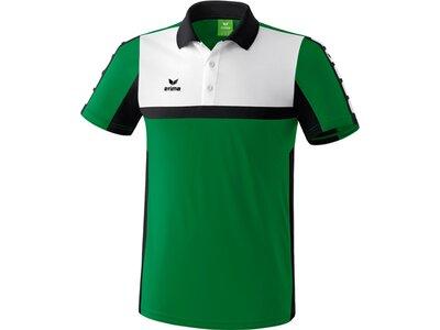 ERIMA Herren CLASSIC 5-CUBES Poloshirt Grün