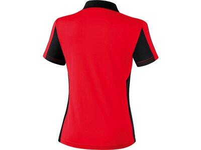 ERIMA Damen CLASSIC 5-CUBES Poloshirt Rot