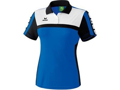 ERIMA Damen CLASSIC 5-CUBES Poloshirt Blau