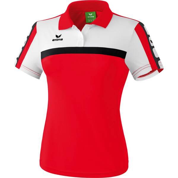 ERIMA Damen CLASSIC 5-CUBES Poloshirt