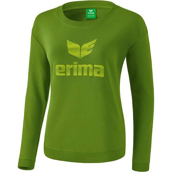 ERIMA Damen Essential Sweatshirt Grün