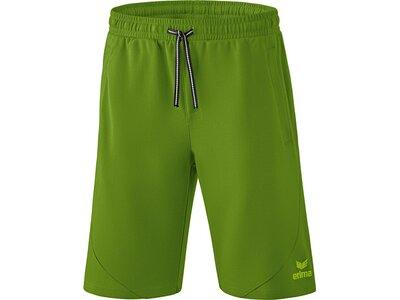 ERIMA Fußball - Teamsport Textil - Shorts Essential Sweathose Short Kids Grün